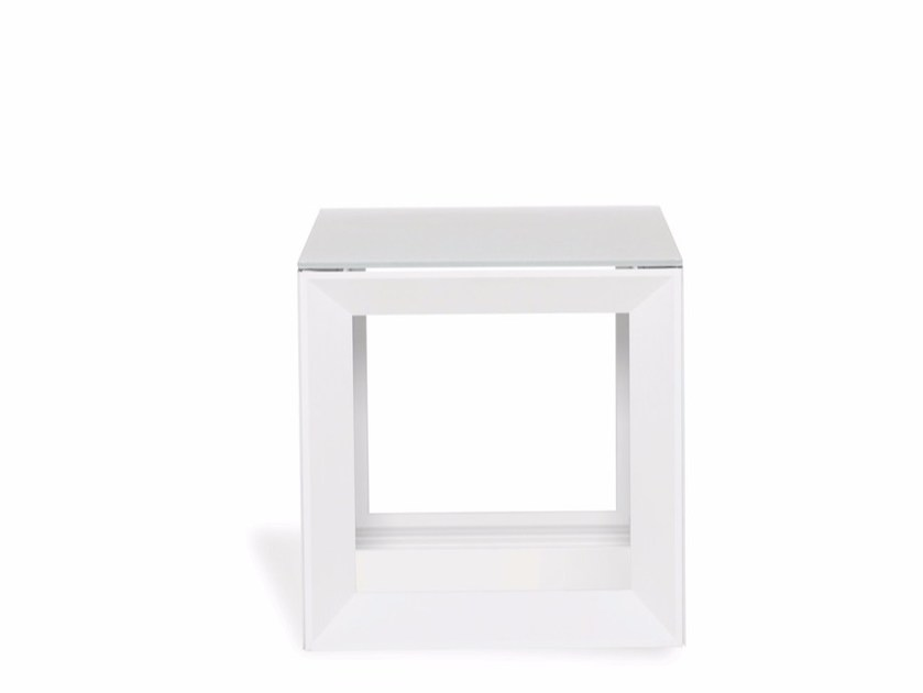 Square garden side table FACET | Coffee table by Joli