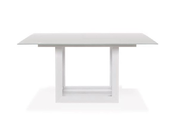 Square Xeramica dining table FACET | Table by Joli