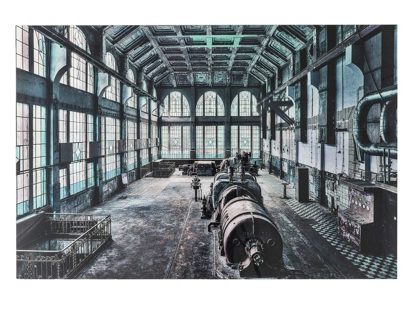 Photographic print / Print on glass FACTORY HALL by KARE-DESIGN
