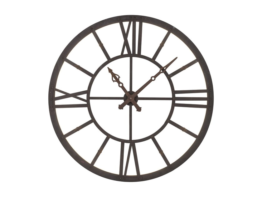 Wall-mounted steel clock FACTORY LED by KARE-DESIGN