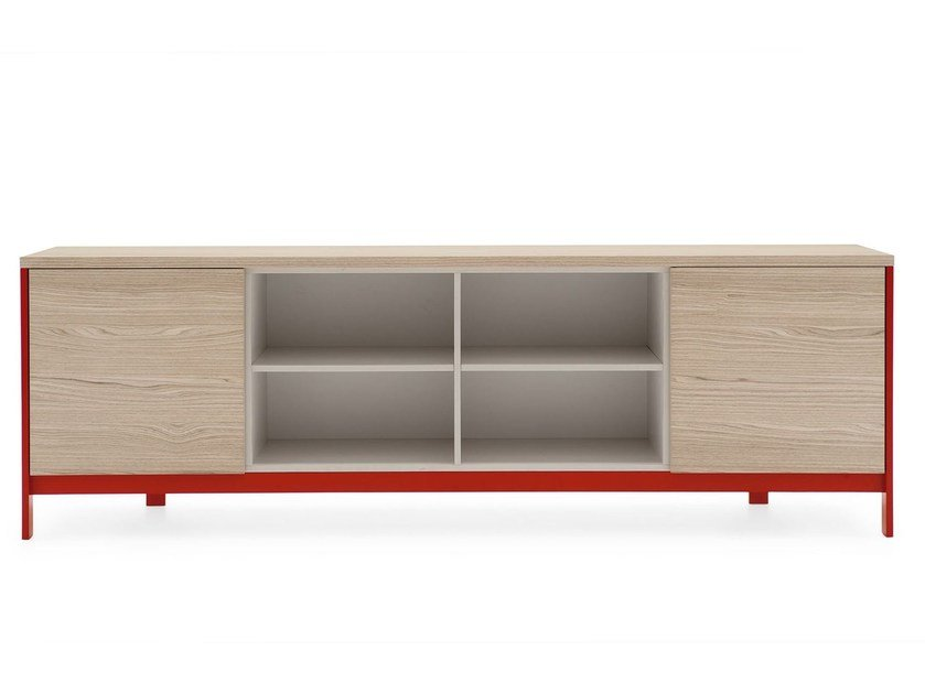 Sideboard with doors FACTORY | Sideboard by Calligaris