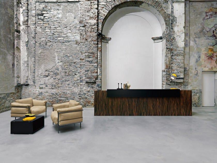 Holz Factory empfangstresen aus holz factory by sinetica design baldanzi novelli