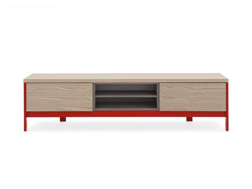 TV cabinet with drawers FACTORY | TV cabinet by Calligaris