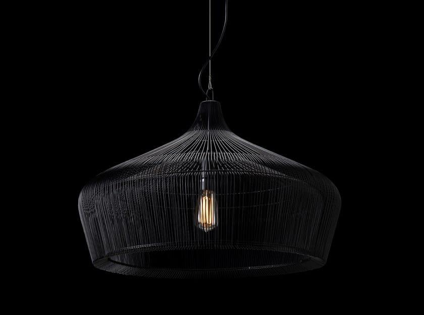 Lampada a sospensione a luce diretta alogena FACTORY by LUNOO