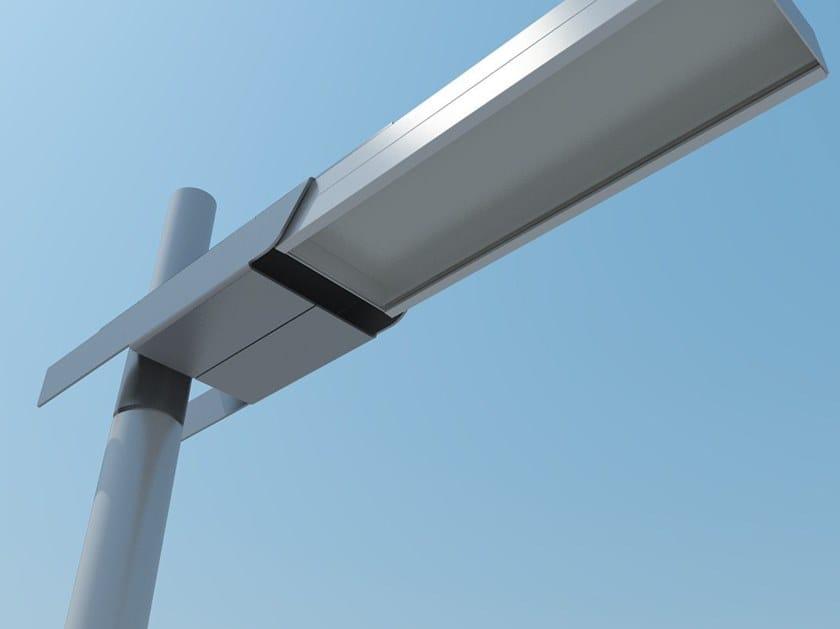 Plafoniere Per Lampioni Stradali : Lampione stradale a led in alluminio anodizzato falco engi