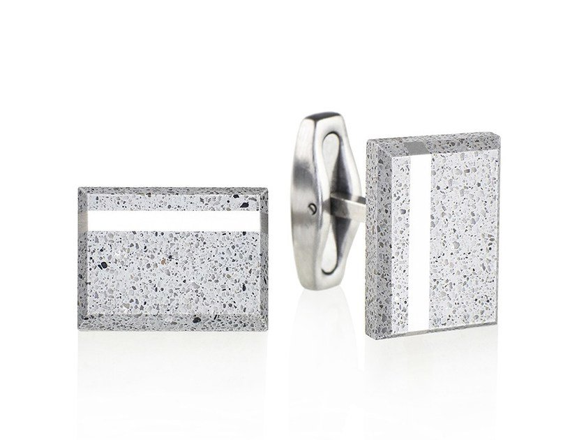 Cufflinks FALCON STEEL by Gravelli