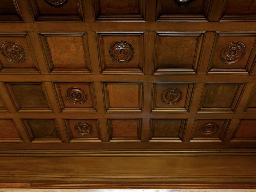 Boiserie da soffitto in legno FALSE CEILING by Arnaboldi Interiors
