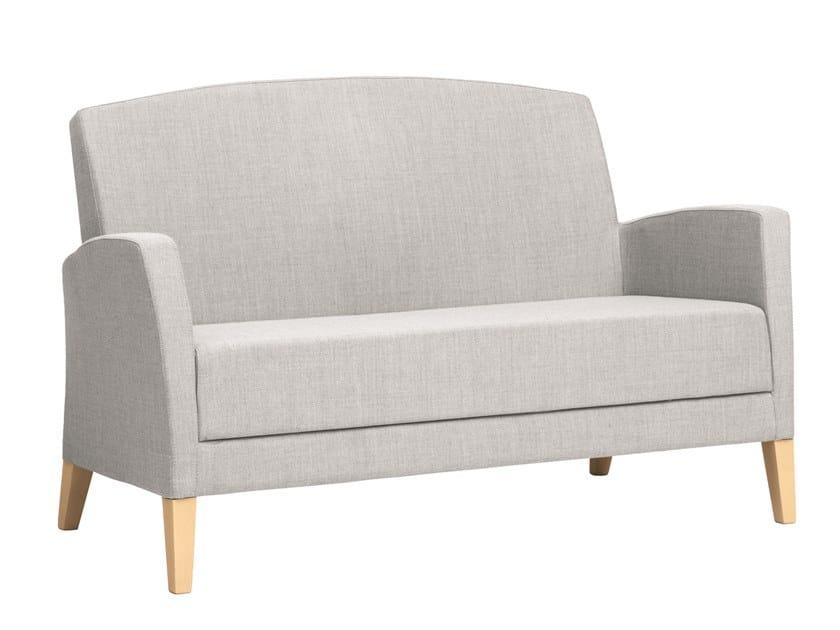 2 seater fabric sofa FANDANGO | CONTRACT | 2 seater sofa by PIAVAL