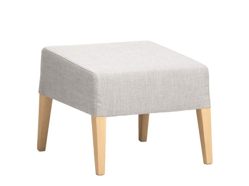 Contemporary style fabric footstool FANDANGO | CONTRACT | Footstool by PIAVAL