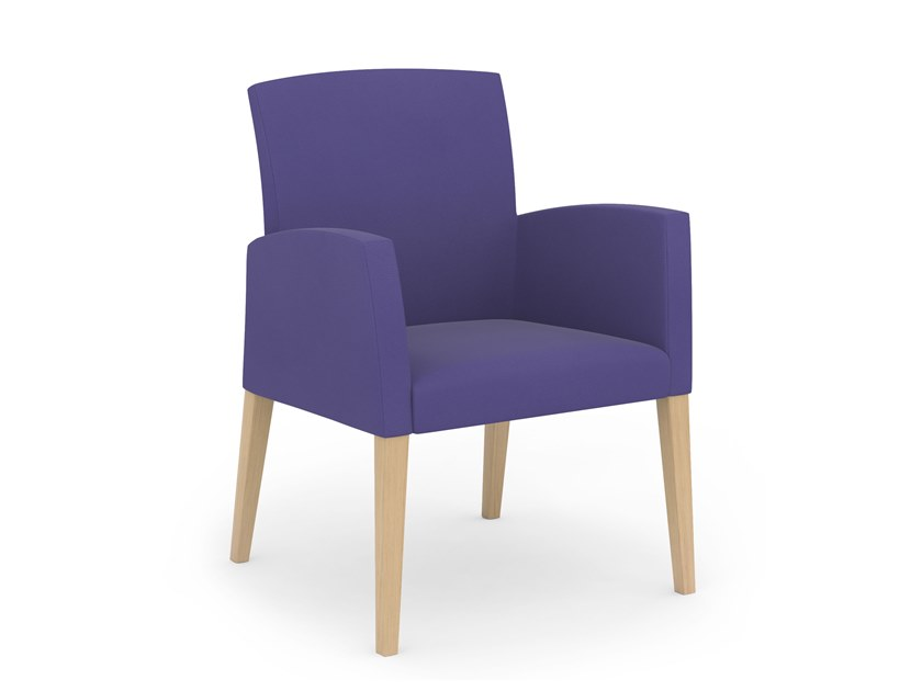 Fabric easy chair with armrests FANDANGO | HEALTH & CARE | Easy chair by PIAVAL