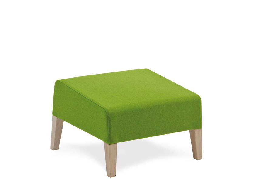 Fabric footstool FANDANGO | HEALTH & CARE | Footstool by PIAVAL
