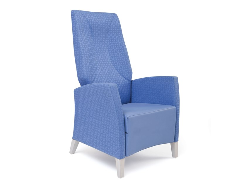 High-back fabric armchair FANDANGO | HEALTH & CARE | High-back armchair by PIAVAL