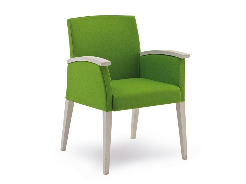 Fabric easy chair with armrests FANDANGO | HEALTH & CARE | Easy chair with armrests by PIAVAL