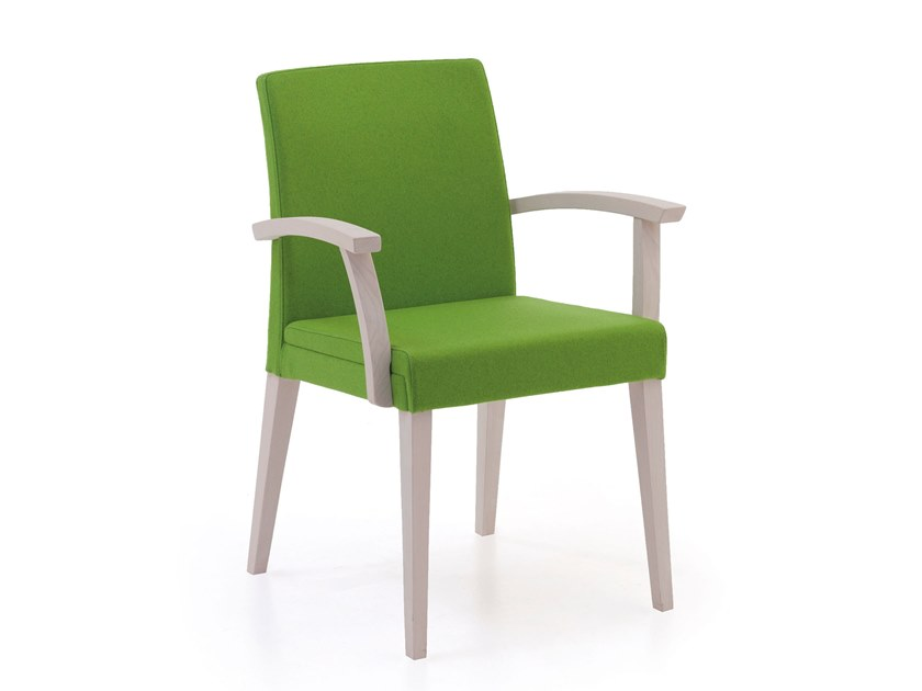 Fabric chair with armrests FANDANGO | HEALTH & CARE | Chair with armrests by PIAVAL