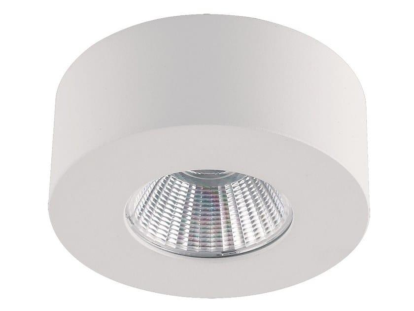 LED aluminium ceiling light FANI by Terzo Light