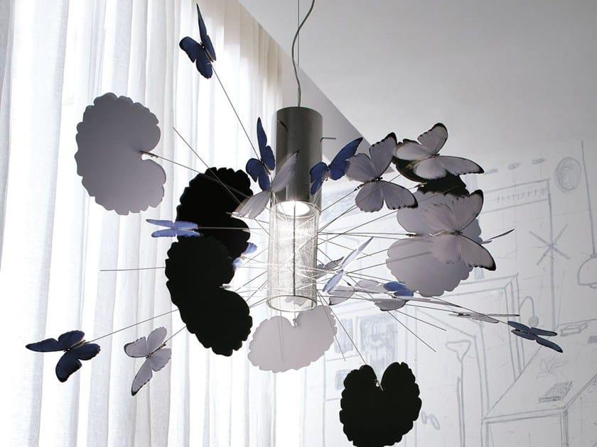 Metal pendant lamp FANTASY by Adriani e Rossi edizioni