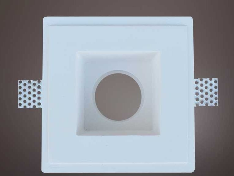Built-in plaster Spotlight fixture FAR 005 by Profilgessi