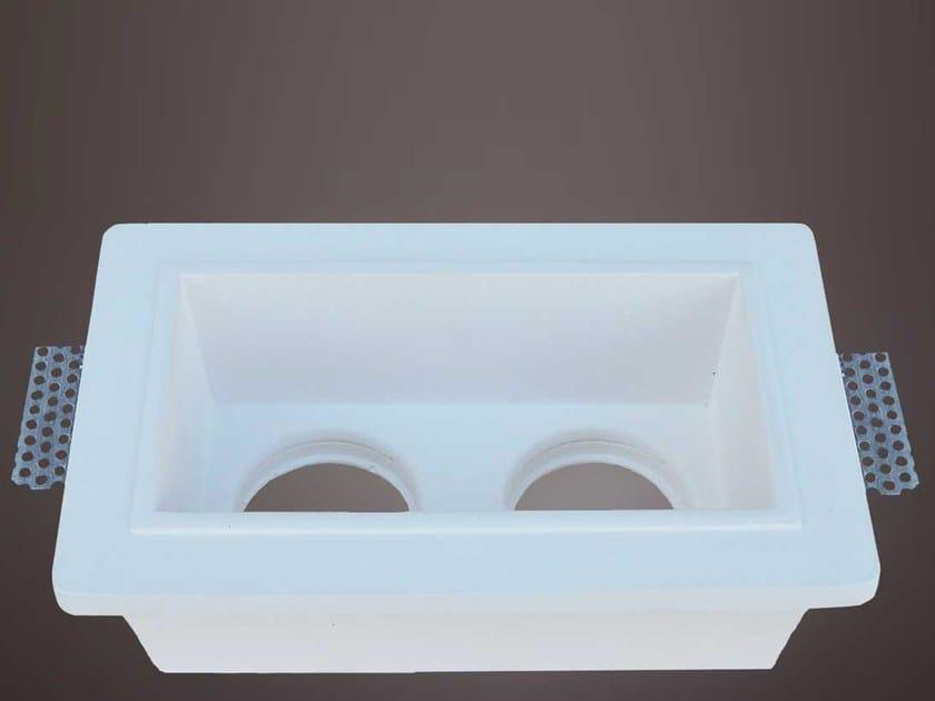 Built-in gypsum Spotlight fixture FAR 007 by Profilgessi