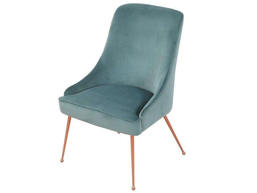 Upholstered fabric chair FARAJA   Fabric chair by ALANKARAM
