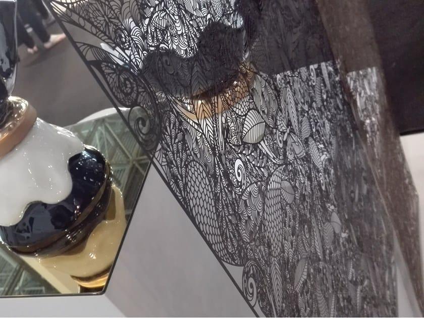 Divisorio sospeso in acciaio inox FARFALLE by Caino Design
