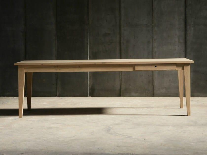 Oak table FARMER by Heerenhuis