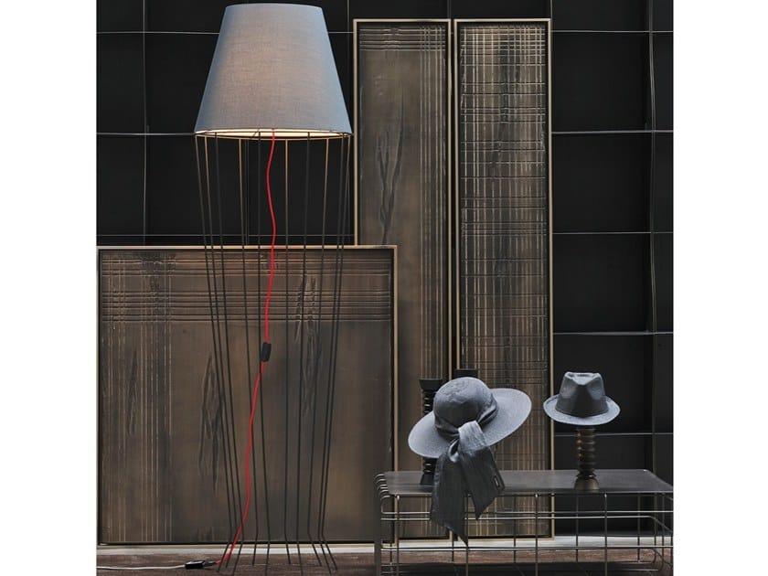 Fabric floor lamp FARO   Floor lamp by Adriani e Rossi edizioni