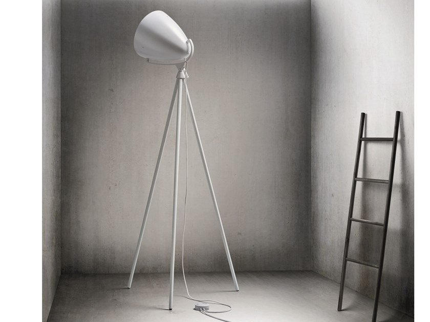 Adjustable floor lamp with dimmer FARO NEXT by Pallucco