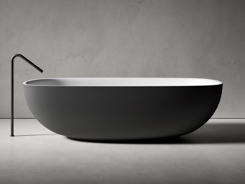 Cristalplant® bathtub FAROE | Bathtub by Boffi