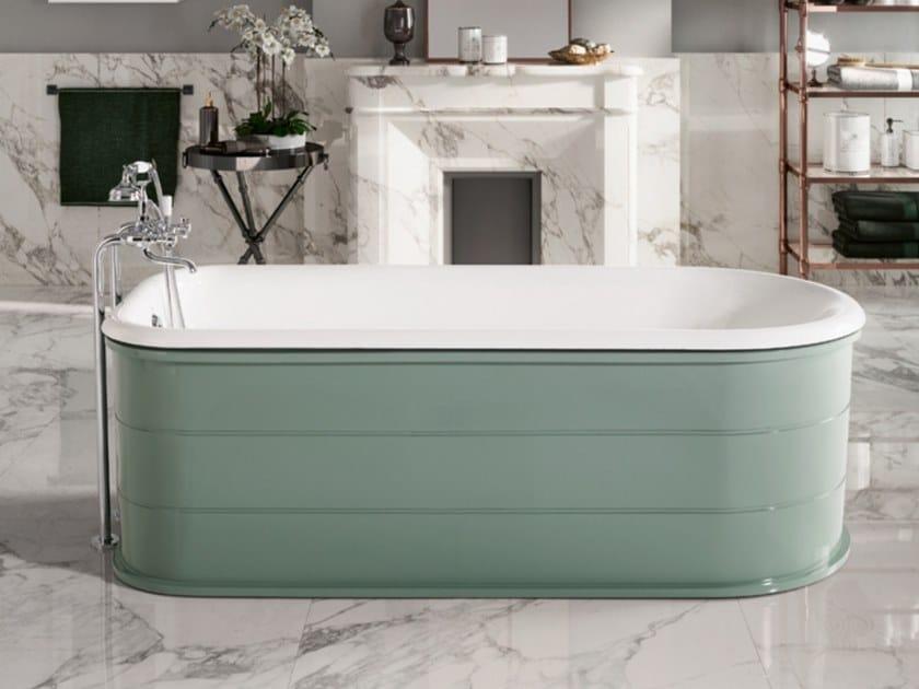 Freestanding cast iron bathtub FASHION by BLEU PROVENCE