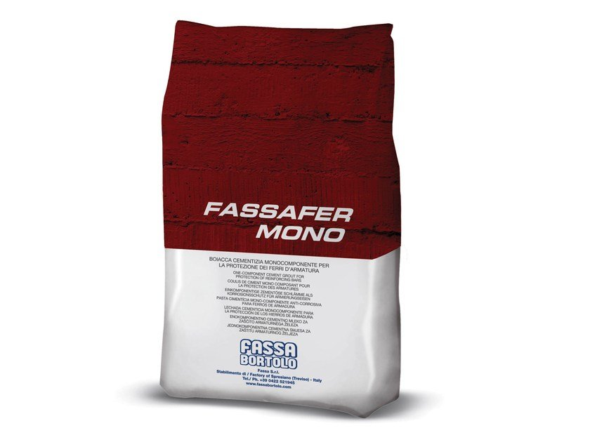 Cement grout FASSAFER MONO by FASSA