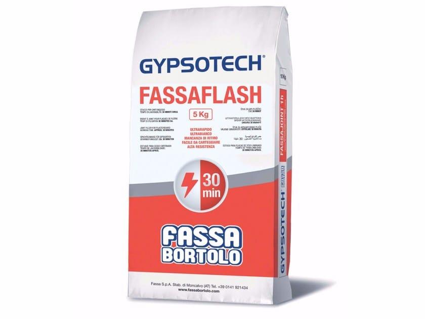 Gypsum and decorative plaster FASSAFLASH by FASSA