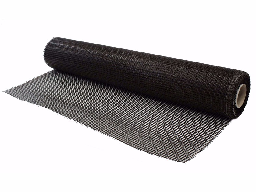 Basalt fiber reinforcing mesh FASSANET BASALT&STEEL 400 by FASSA