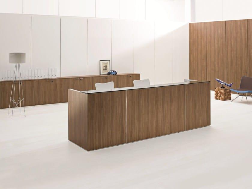 Modular Reception Desk FATTORE ALPHA | Reception Desk By Archiutti