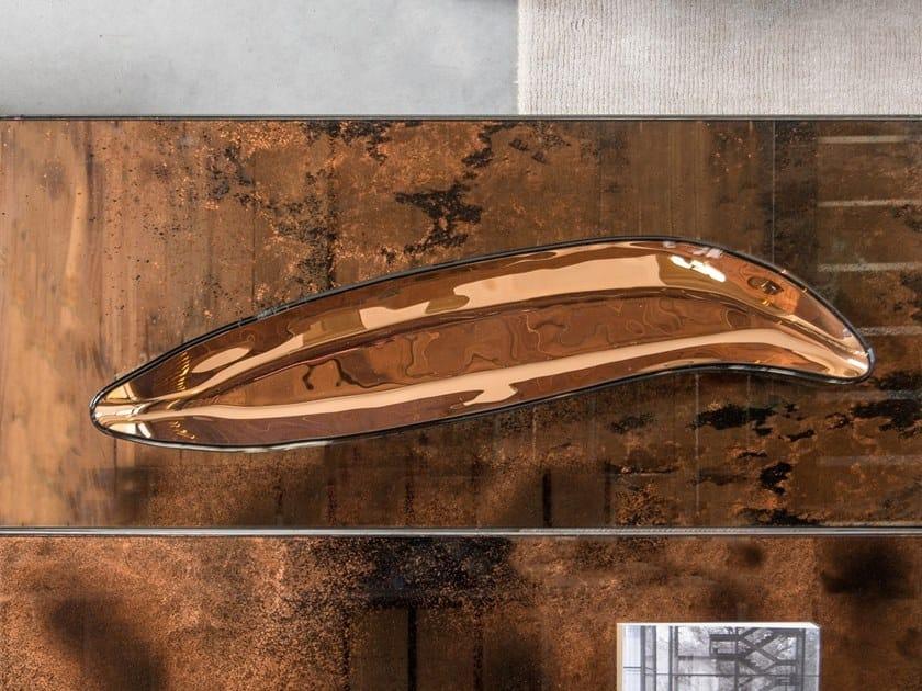 Glass centerpiece FAVA by Gardeco