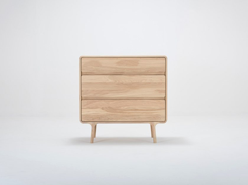 Oak chest of drawers FAWN | Chest of drawers by Gazzda