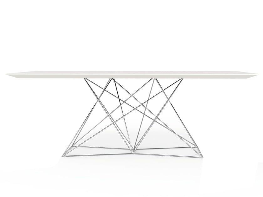 Rectangular HPL table FAZ | Table by VONDOM
