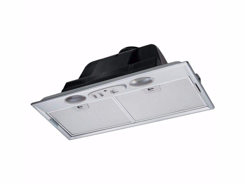 Cappa in acciaio inox ad incasso con illuminazione integrata FBI 502 XS by FRANKE