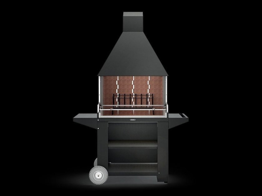 Fireplace grill garden FCG 900 by Fògher