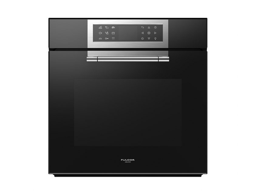 Built-in electric multifunction glass oven Class A + FCLPO 6215 P TEM BK | Oven by Fulgor Milano