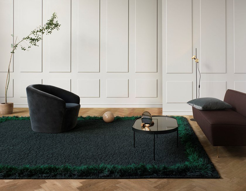 Handmade rectangular rug FEATHER | Rectangular rug by Kasthall