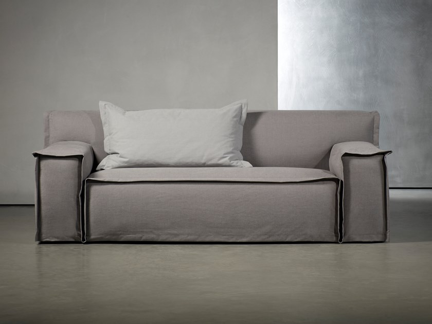 Fabric sofa with removable cover FEDDE LIVING | Sofa by Piet Boon