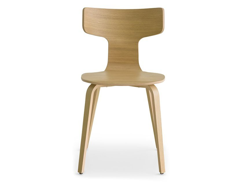 Multi-layer wood chair FEDRA | Chair by Lapalma
