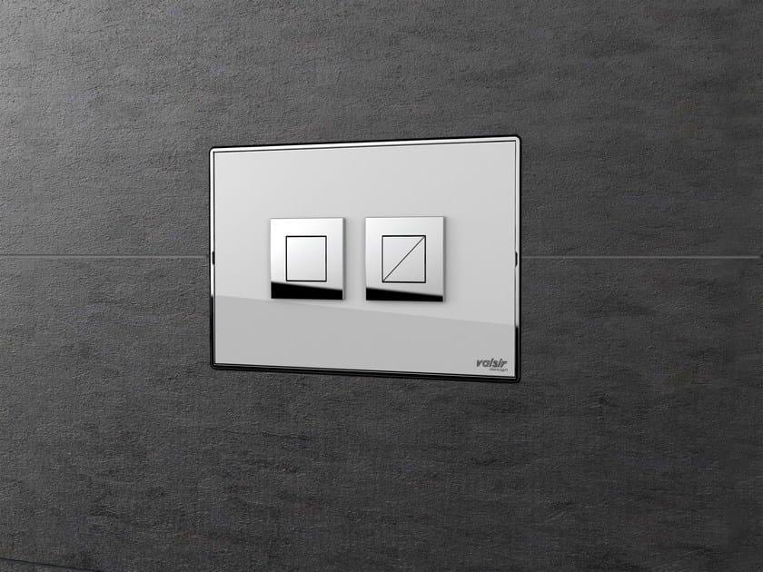 Flush plate FEEL by Valsir