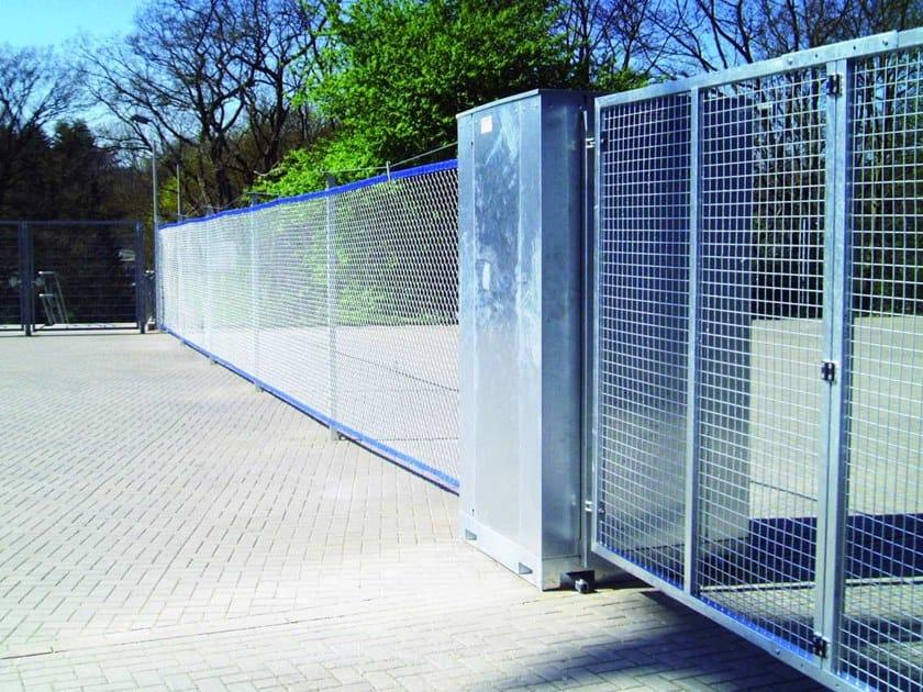 Sports ground fence FENCEBOX® By GEOBRUGG