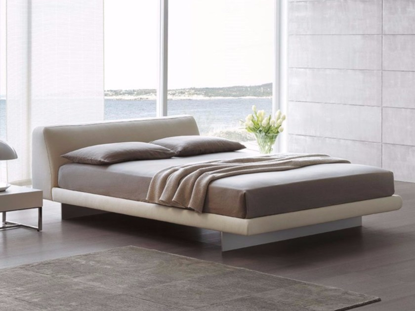 Upholstered bed with upholstered headboard FENG by ALIVAR