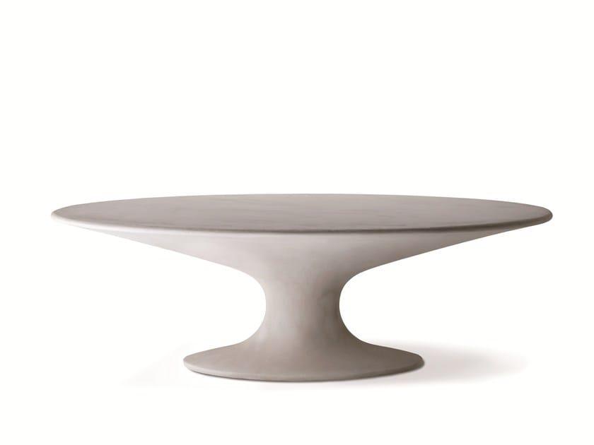 Oval table FENICE 2574 by Zanotta