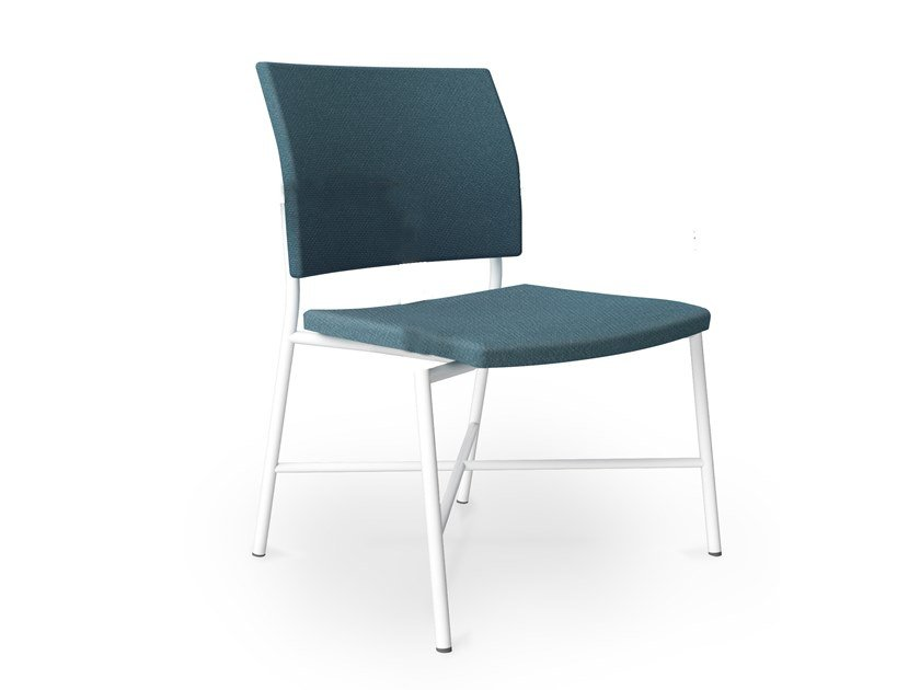 Upholstered metal chair FENIKS BARIATRIC | Chair by Casala