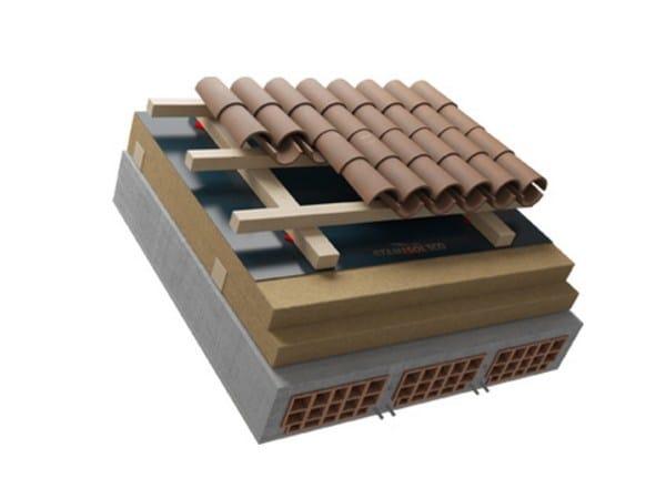 Ventilated roof system FERRARA by Naturalia BAU