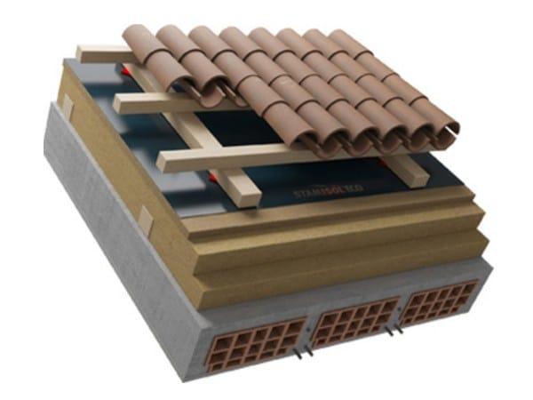 Sistema per tetto ventilato TETTO FERRARA PLUS by Naturalia BAU