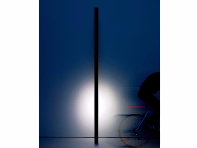LED metal Floor lamp FERRO by DAVIDE GROPPI